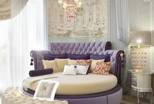 Home - Master Bedroom Ideas & Walk in Closets / by Karen Riley-Belle (Bella Events by Kay)