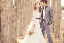 Golden Autumn Wedding / Voor alle bruiden die dromen van een bruiloft in de herfst... / by Covers Couture Bruidsmode