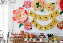 Party and Event Planning Ideas / by Rachel Jayne