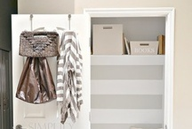 Mini Mudroom / by Kristin Bergthold | Yellow Bliss Road