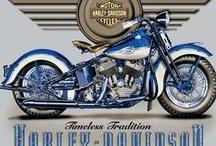 Harley Davidson / by Paula Schultz