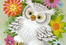 Owls / by Shirlan Carter
