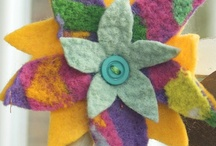Needle felting machine / Looking for new ideas for you needle felting machine? Look what we have made with our embellishing machine. To learn more go to http://www.colouricious.com/shop/textile-art-embellishing-machine-dvd / by Colouricious Creatives
