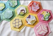Hexagons / BERNINA loves hexagons! This board is dedicated to all things hexagon that keep us inspired!  / by BERNINA WeAllSew Blog