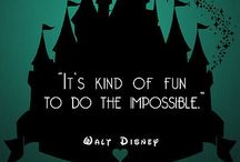 it's kind of fun to do the impossible. / Disney  / by Samantha Durham