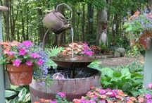 whimsey in the garden~ / by Patty Sweeney-Shevchik