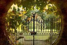 enter through the garden gate~ / by Patty Sweeney-Shevchik