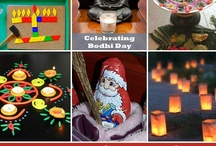 """Holidays! / Various Holidays including; """"New Year's"""", """"Diwali"""", """"Groundhog's Day"""", """"Bodhi Day"""" ...   / by Leanne Dwyer"""