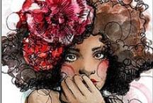 Le Belle illustrée ! / by Arletrossi Sanchez