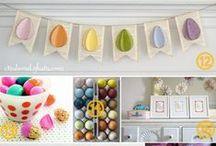 Easter / Pâques : DIY, inspirations et jolies choses... /    / by Isabelle de Beukelaer