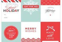 Christmas gifts : tags & others freebies / nous en avons tellement trouvé sur le web qu'il a fallu créer une catégorie à part rien que pour eux : ces imprimables (tags, boîtes, papiers...) pour vos cadeaux de Noël pourront, bien sûr, être aussi utilisés sur vos créations, mais si vous ne trouvez pas ici ceux qui vous plairont, je n'y comprends plus rien !... mais peut-être le plus difficile sera-t-il... de choisir ?!?... et tout n'est pas perdu : nous continuerons à vous en proposer de nouveaux - alors revenez vite les voir ! / by Isabelle de Beukelaer