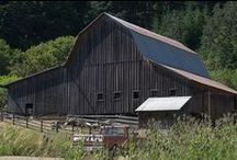Barns / Barns & remembrances of times gone by / by G. Christensen