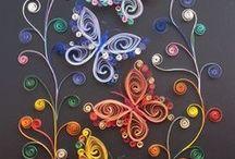 créez vos embellissements / rubans, nœuds, animaux, personnages, objets de toutes sortes... en tissu, en feutrine, en pâte (Fimo ou autre), en papier, en carton... broderie, origami, appliqués, crochet, paper piecing, mosaïque... il y a tant de choses qui peuvent orner nos créations !... quelques idées ici... / by Isabelle de Beukelaer