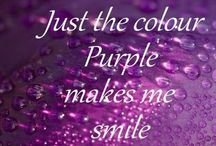 Things Purple and various shades of.... / by Jean