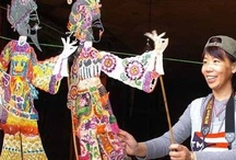 """Chinese puppetry / """"As one of China's performing art contributions to world heritage treasures, Chinese puppetry has a long history. It is noted for its many types of puppets and superb manipulative skill."""" / by Ilda Martins"""