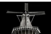 Wind Mills and Water Towers / Windmills, Wind Turbine Generators, Solar power plants, Water Towers, etc. / by Shigeru Nagahisa