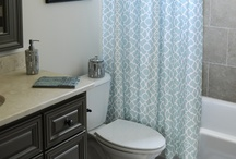 Bathroom Ideas / Bathrooms are so much fun to decorate! / by Katie Zientek