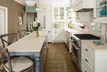 Kitchen Ideas / Creating a beautiful kitchen is challenging and that's why we love it! / by Katie Zientek