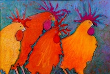 Chicken Art / by Art Ideas and More