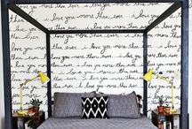 wall coverings galore / It doesn't end with wallpaper / by Kat Randall