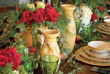 Floral Centerpieces and Tablescapes / by glamorous diva