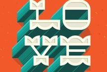 TYPOGRAPHY / Can't live without it. / by Gabrielle Gorninsky