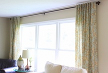Crafting: Window Treatments & Shower Curtains / by Natalia Caylor