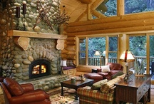 Cozy, Warm & Rustic / Cozy Cabins, Warm Wood & Rustic Charm / by Kim Boyer