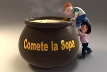 Cometelasopa.com / by David Cortejoso