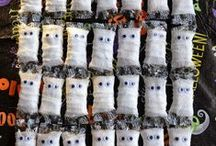 Halloween Ideas that are Frightfully Fun / Halloween decorations, costumes, food, and more!  #Halloween #HalloweenDecor #HalloweenCostumes #HalloweenTreats #HalloweenCrafts / by East Coast Mommy