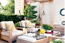 Outdoor retreats  / Outdoor living spaces / by Kat MacArthur