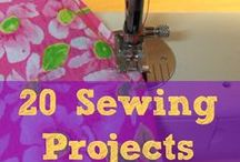 """""""Sew"""" Fabulous! Sewing and Crocheting crafts! / by Hilda Boltz"""