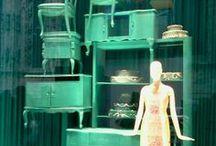 Visual merchandising / shop display / by Outi Les Pyy // DIY fashion // OutsaPop Trashion