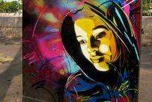 Writing on the Wall  / Street Art and Graffiti  / by Lia Lloyd