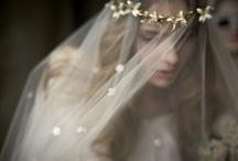 bride fascinator veil & hats  / by Miss Koole Hats