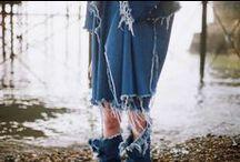 Denim & Jeans / by Outi Les Pyy // DIY fashion // OutsaPop Trashion