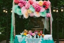 Pretty parties / by Vanessa Sicotte {Damask & Dentelle}