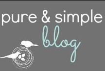 Pure & Simple Organizing Blog / Pure & Simple blog is a lifestyle blog that inspires you to live a more organized life in an easy, maintenance free way!   / by Jennifer Burnham {Pure & Simple Organizing}