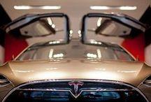 Tesla Model X / by Brad Mills