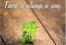 Never give up! / Inspirational quotes that will make your day! / by Publishers Clearing House