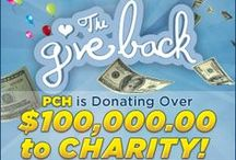 The Give Back / We're donating over $100,000 to charity and your vote counts! Check out some of our favorites! / by Publishers Clearing House