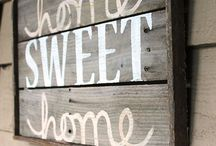 My HOME sweet home / by Ashley Pigg