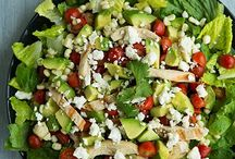 Recipes--Salads/Dressings / by Charity Lewis-Vocker