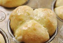 Recipes--Bread/Rolls / by Charity Lewis-Vocker