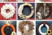 home - wreaths / by Sarah Newsom