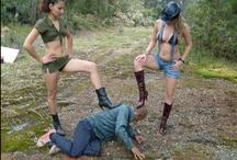 Femdom / Photos from Bossy girls femdom videos / by Bossy Girls