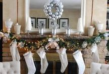 Fireplace Mantels For Winter / Mantel decorations for winter / by Napoleon® Products