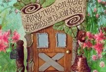 Fairy Doors / A collection of enchanted miniature fairy doors in our miniature fairy gardens. / by Enchanted Gardens