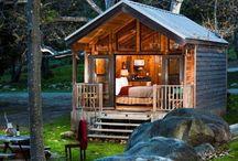 Log Cabins / by Lisa Desilets
