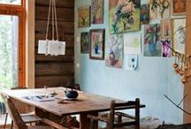 Home: Living Areas / by Jenny Prust